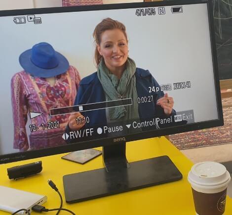 עדי לנדאו רון הצילומים לקורס דיגיטלי - styling therapy סטיילינג טיפולי